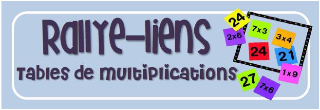 Apprendre les tables de multiplication en jouant - Jeux pour apprendre les table de multiplication ...