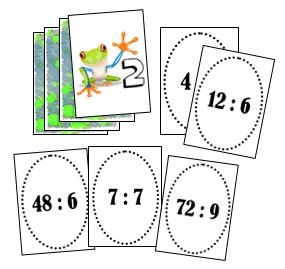 Jeux division - Jeu table de multiplication ce1 ...